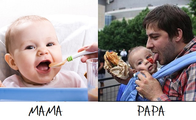 The Difference Between Moms And Dads Taking Care Of Kids
