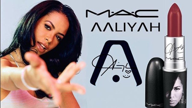 Aaliyah Fans Are Demanding A MAC Cosmetic Line Inspired by the Late Superstar!