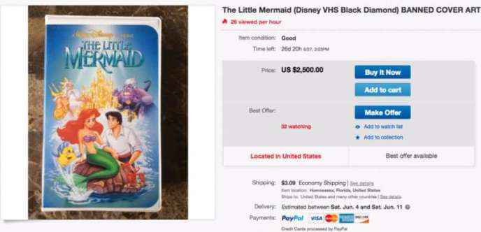 Do You Own Any Classic Disney VHS Tapes? You Could Make Thousands Of Dollars!