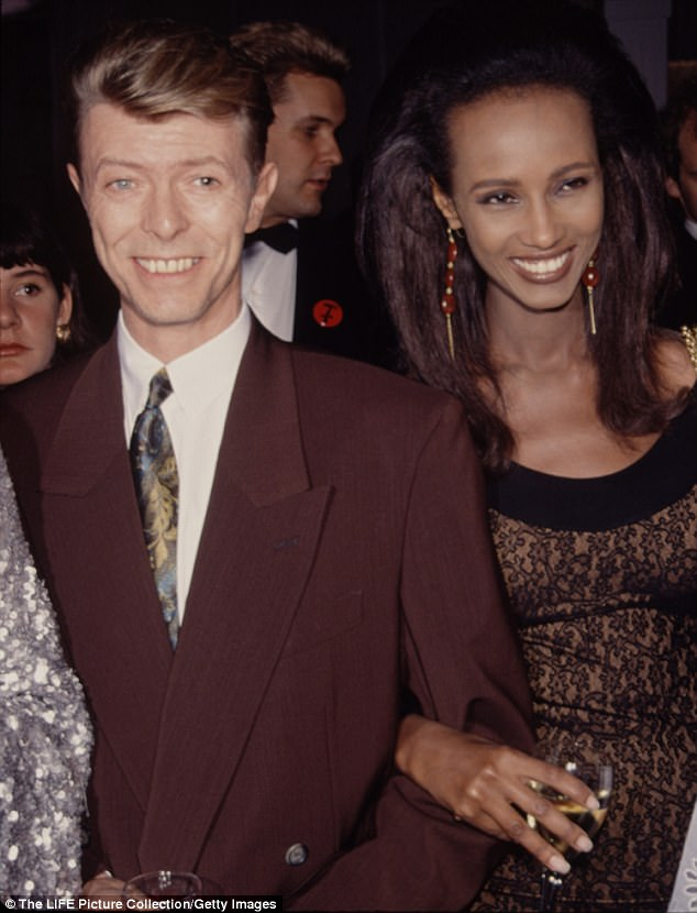 Supermodel Iman Shares Rare Photo Of Her And David Bowie's Daughter Lexi To Mark Teen's 17th Birthday