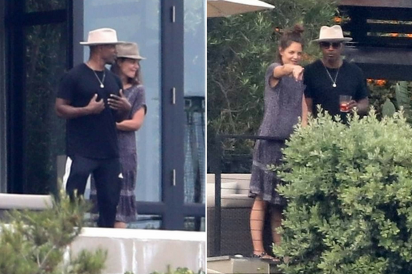 Katie Holmes And Jamie Foxx FINALLY Confirm Relationship ... Katie Holmes And Jamie Foxx