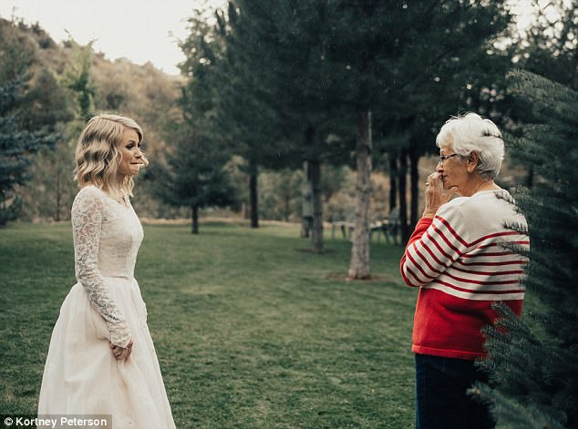 The Emotional Moment A Bride Surprises Her Grandmother By Wearing Her 1962 Wedding Dress
