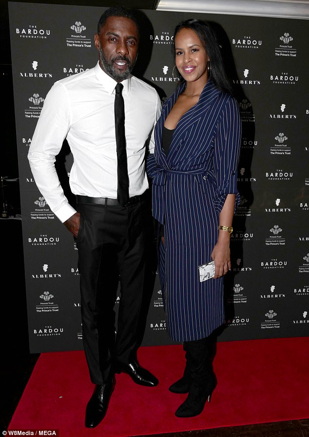 The Heartwarming Moment Smitten Idris Elba Is Seen Getting Down On Bended Knee To Propose To Beauty Queen Girlfriend Sabrina Dhowre