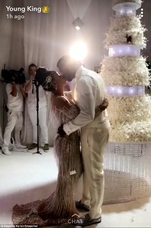 Gucci Mane Weds Keyshia Ka'oir In Lavish Ceremony At Four Seasons In Miami