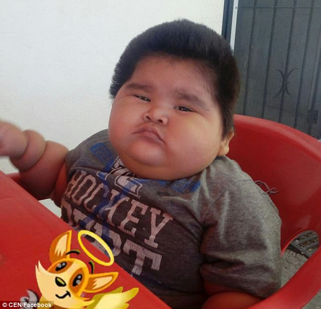 Is This Mexican Boy The World's FATTEST Baby? 10-Month-Old Who Is Constantly Hungry Is The Same Weight As A NINE - YEAR OLD