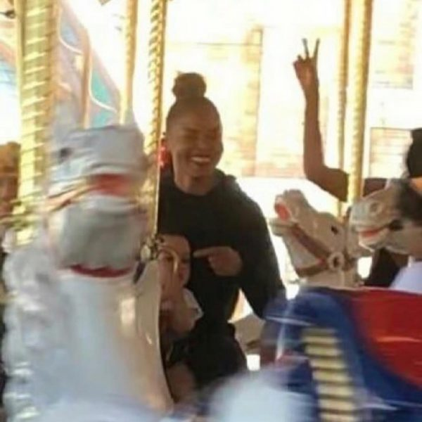 Janet Jackson And Ciara Enjoy Play Date With Their Kids At Disneyland