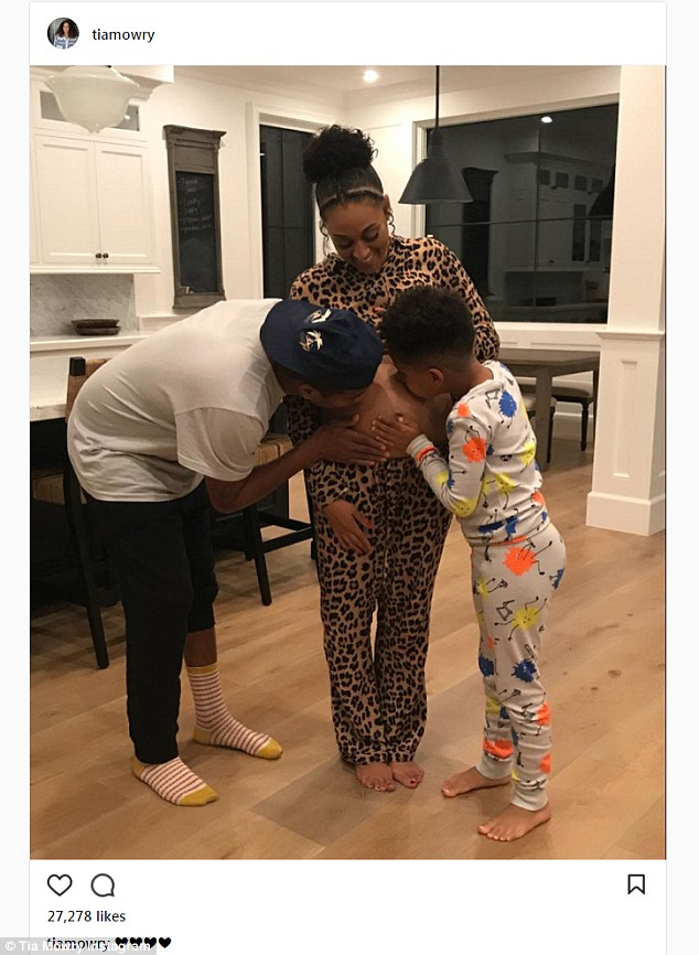 Tia Mowry Reveals She Is Expecting Her Second Child