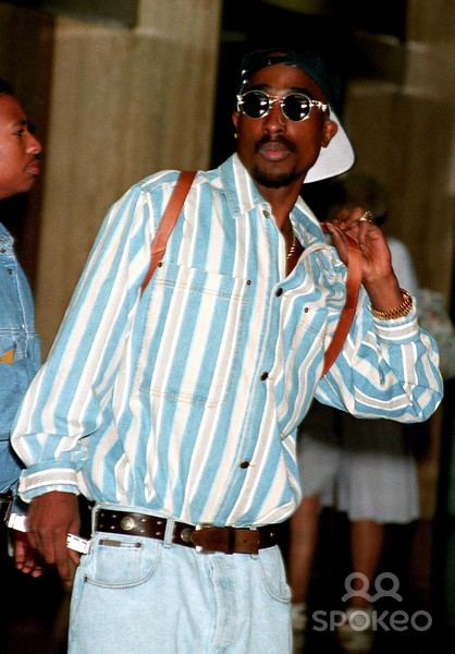 17 Top Tupac Style Moments
