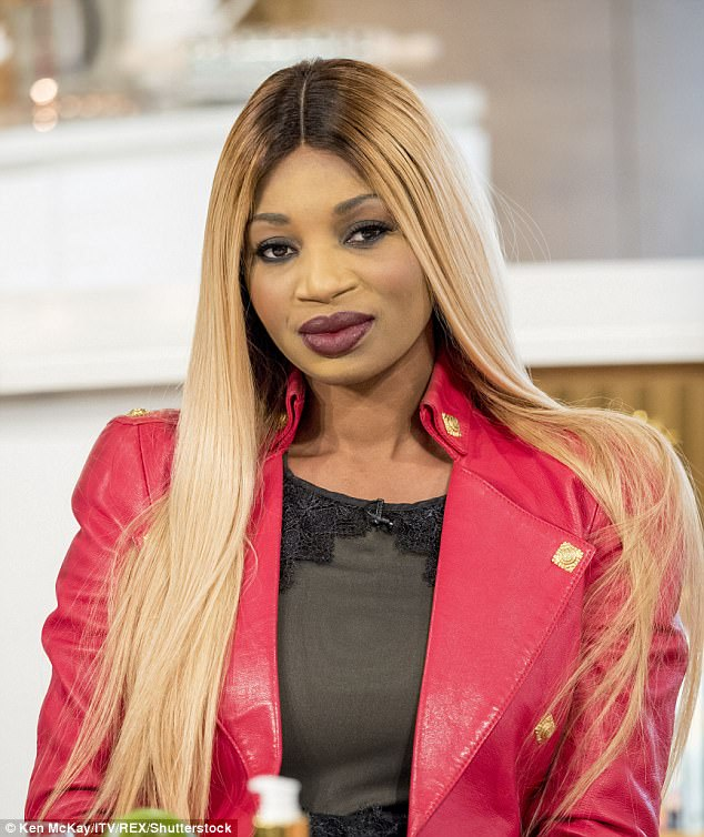 Black Reality Star Whips Off Her WIG Whilst Defending Her Decision To Lighten Her Skin