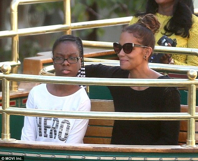 Halle Berry Spends The Day With Teen From Make-A-Wish Foundation