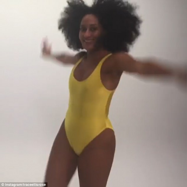 Black-ish Star Tracee Ellis Ross Shows Off Her Incredible Swimsuit Body To Celebrate Directing An Episode Of The Hit Show