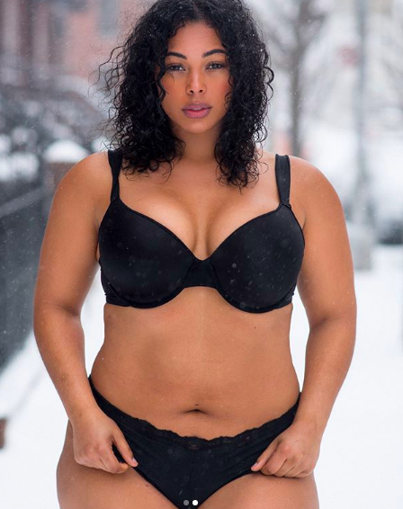 New BBW Model Is Blowing Up On Social Media And She's Advocating For Body Positivity!