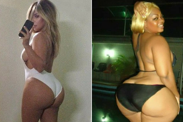 Africa's Answer To Kim K - Who Has A 60 Inch BUTT - Insists Her Curves Are Totally NATURAL