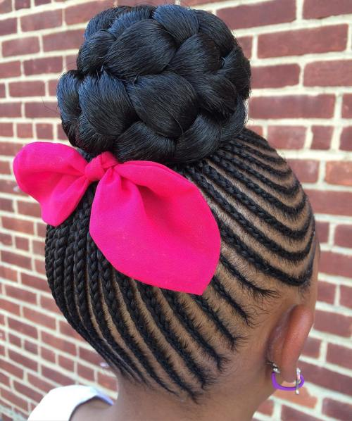 10 Beautiful Black Girls Hairstyles For Your Little Darling