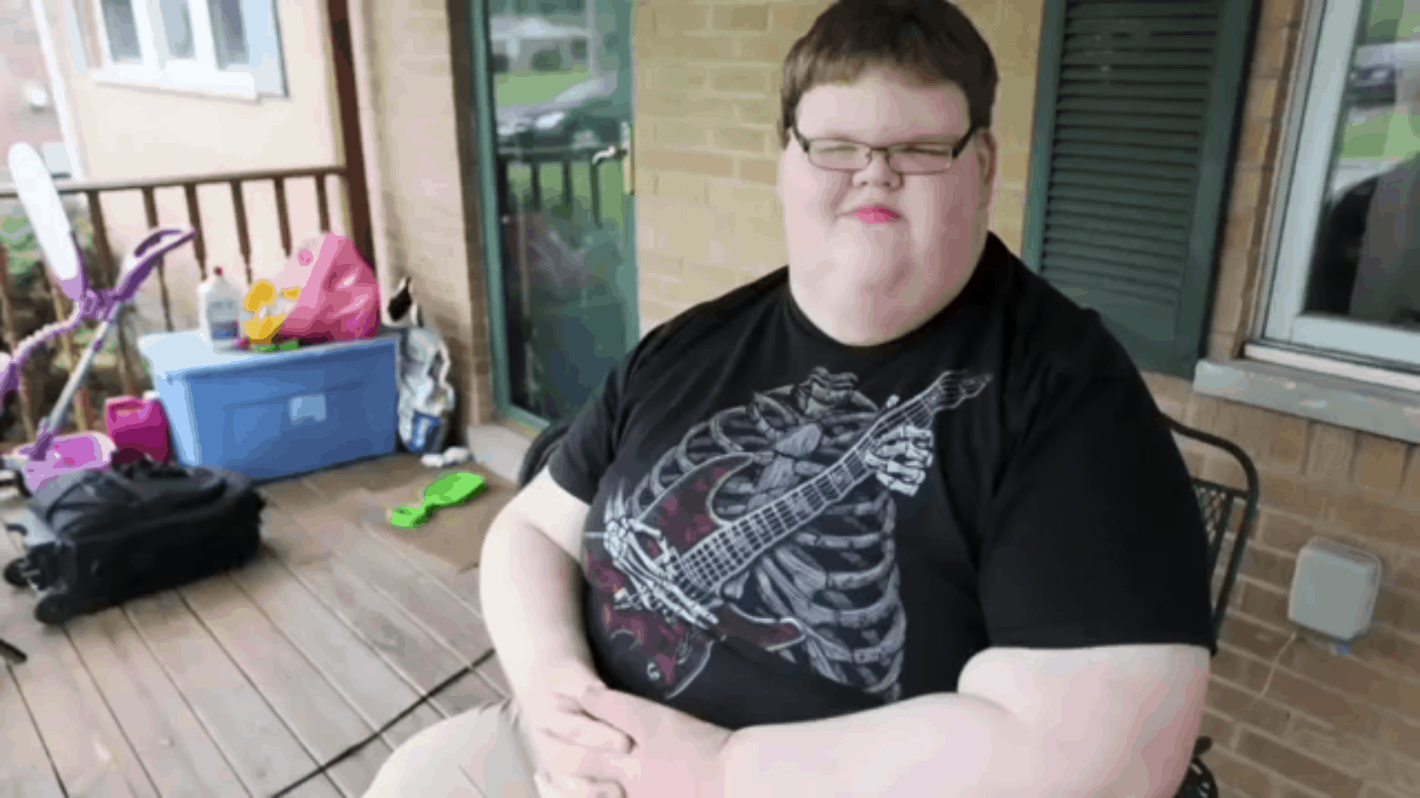 At Just 15 Years Old He Weighed 715 Pounds Just Wait Until You See Him Today