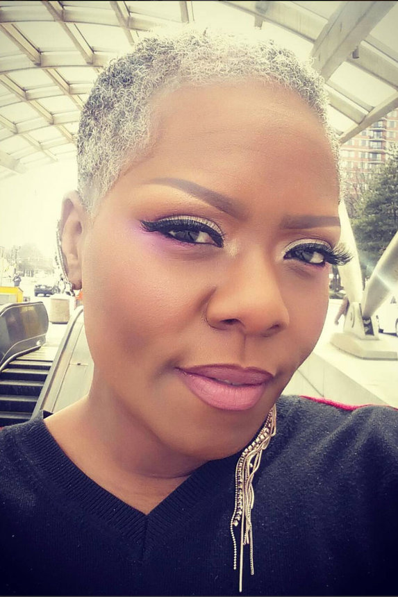 Latest Black Woman Hairstyle Trend Slaying Gray Hair