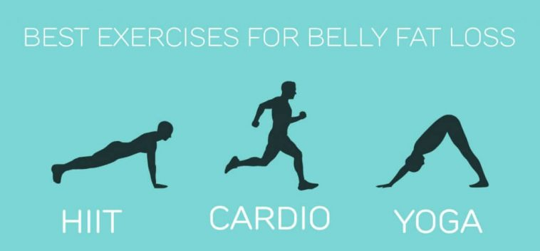 best cardio exercise for belly fat loss